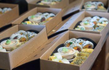 Sushi Taxi - livraison de sushis frais à Stoneham